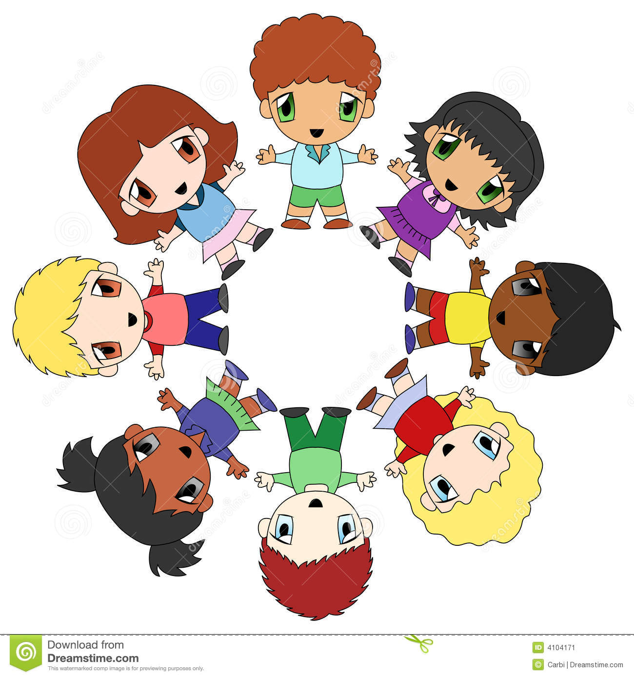 Kids In A Circle Clipart Images   Pictures   Becuo
