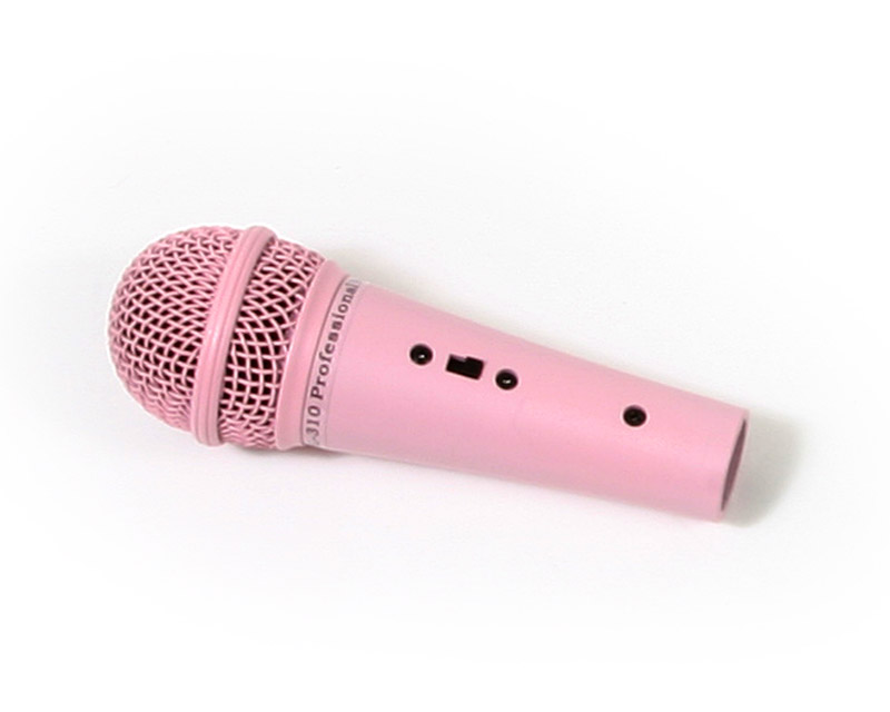 Pink Microphone Clipart - Clipart Suggest