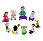 Time Outline For Classroom   Therapy Use   Great Circle Time Clipart