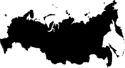 russia map clipart