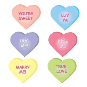 Bag Of Candy Valentine's Day Clipart - Clipart Kid