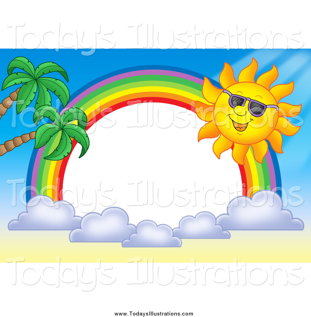 Rainbow Border Clipart - Clipart Suggest