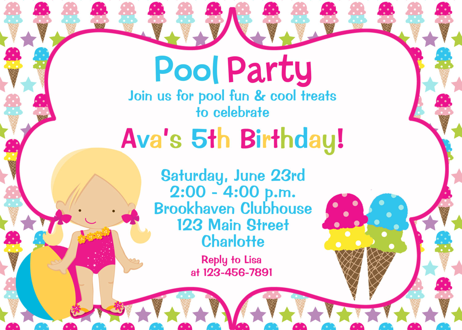 Birthday Lunch Invitation Wording for good invitations layout