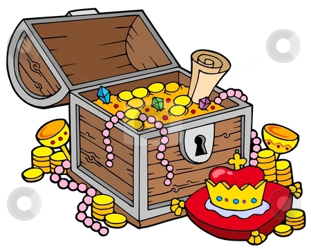 Pirate Treasure Chest Clipart - Clipart Kid