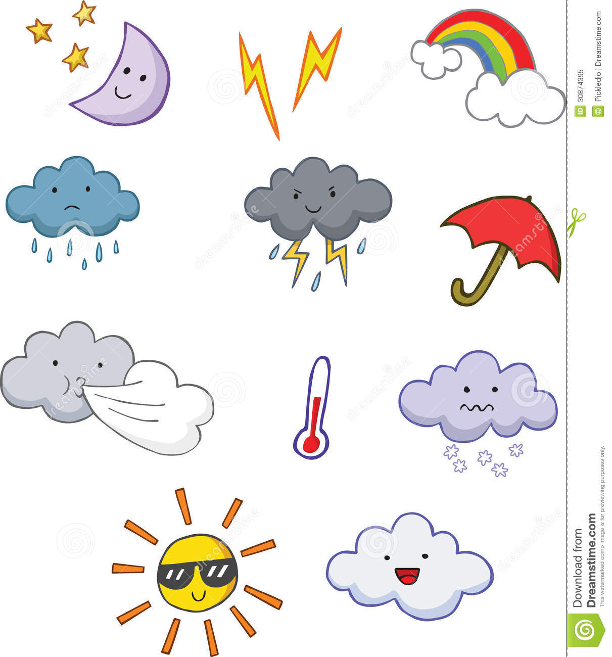 Weather Symbols Lightning | galleryhip.com - The Hippest Galleries!