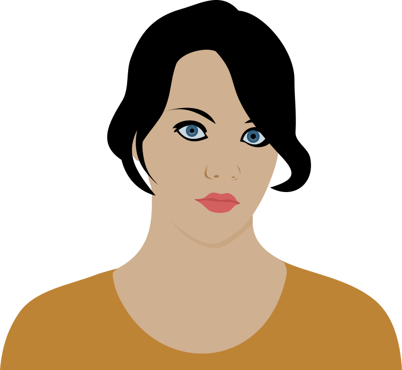 Serious Face Clipart Serious Woman By Rones