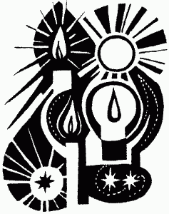 Advent Candles Black And White Clipart - Clipart Suggest