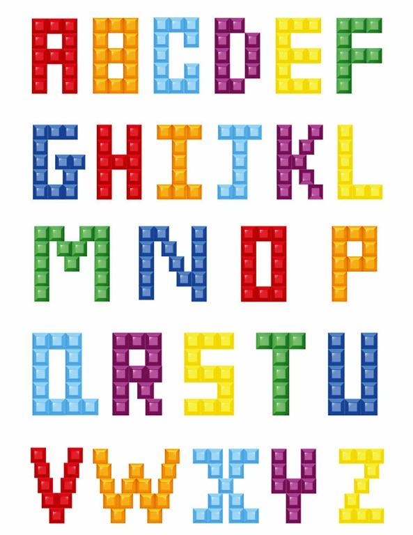 Alphabet Block Letters Clipart - Clipart Kid