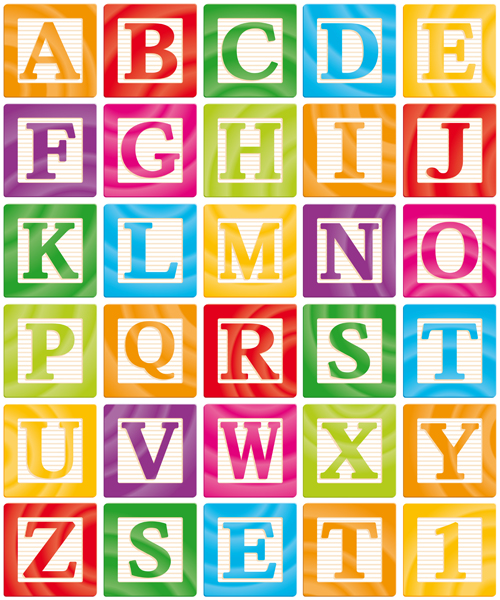 Alphabet Elements Vector Graphics 03 Download Name Different Alphabet