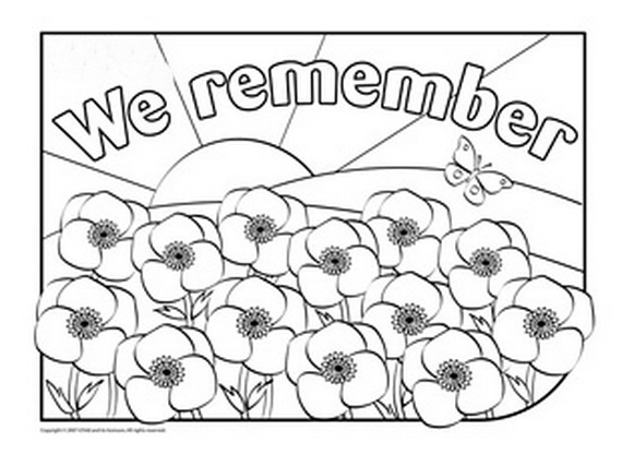 anzac soldier coloring pages - photo#35