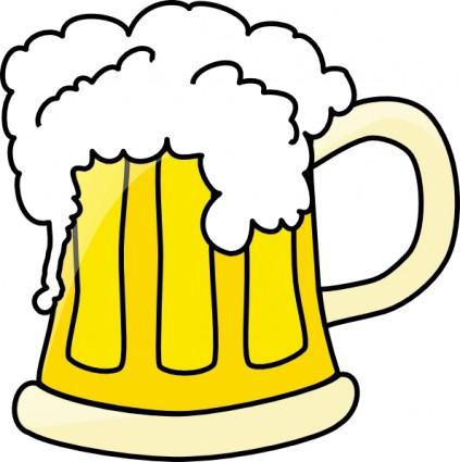 Clip Art Beer Mug Clipart beer mug clipart kid clip art free vector 118 55kb