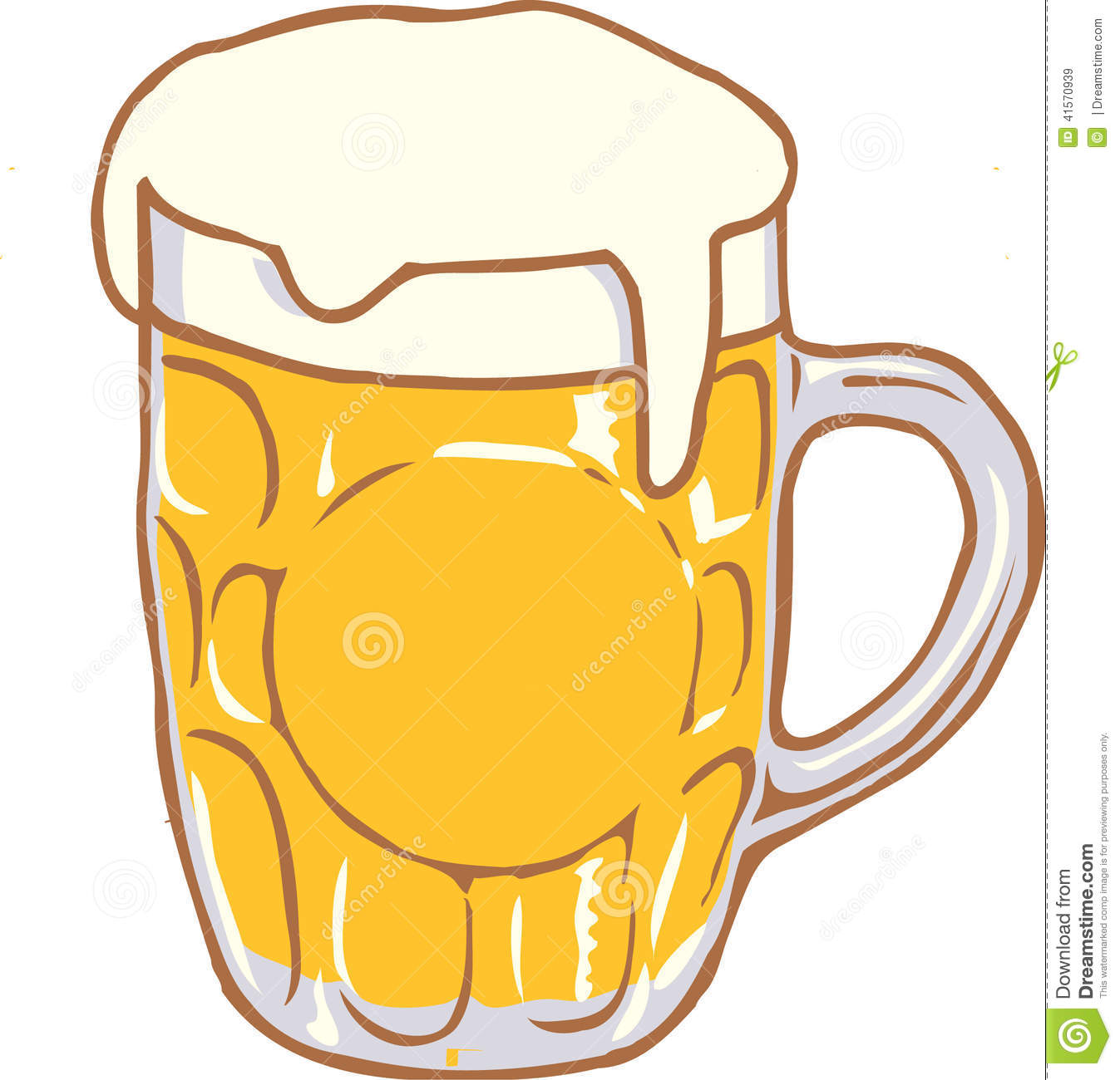 Beer Mug Vector Design Clipart Created In Adobe Illustrator In Eps