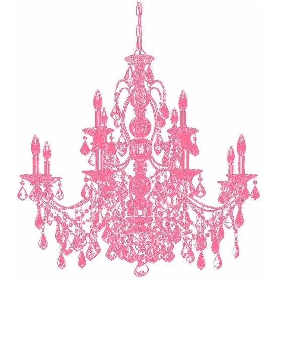 bubblegum pink chandelier 8x10 print digital by spunkybinky background pink chandelier