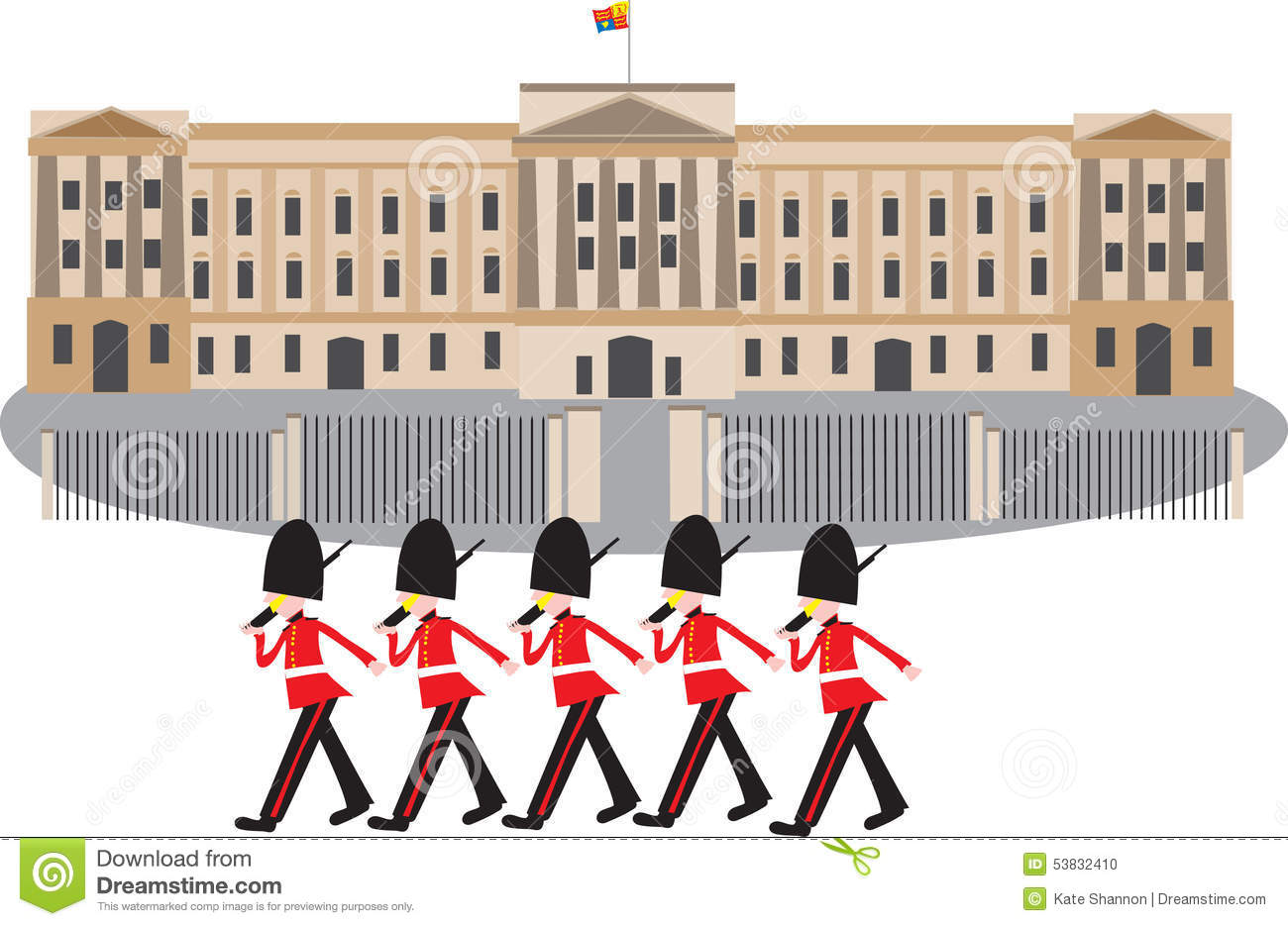 Buckingham Palace Guards Clipart Buckingham Palace Guard - Clipart Kid