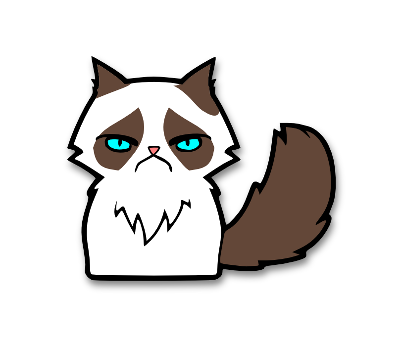 Click Here To Download Grumpy Cat Svg