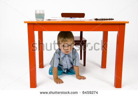 Hiding Under Desk Clipart - Clipart Suggest