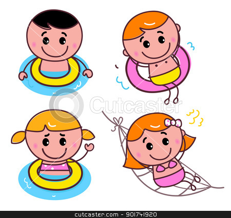 Learning To Swim Clipart - Clipart Kid