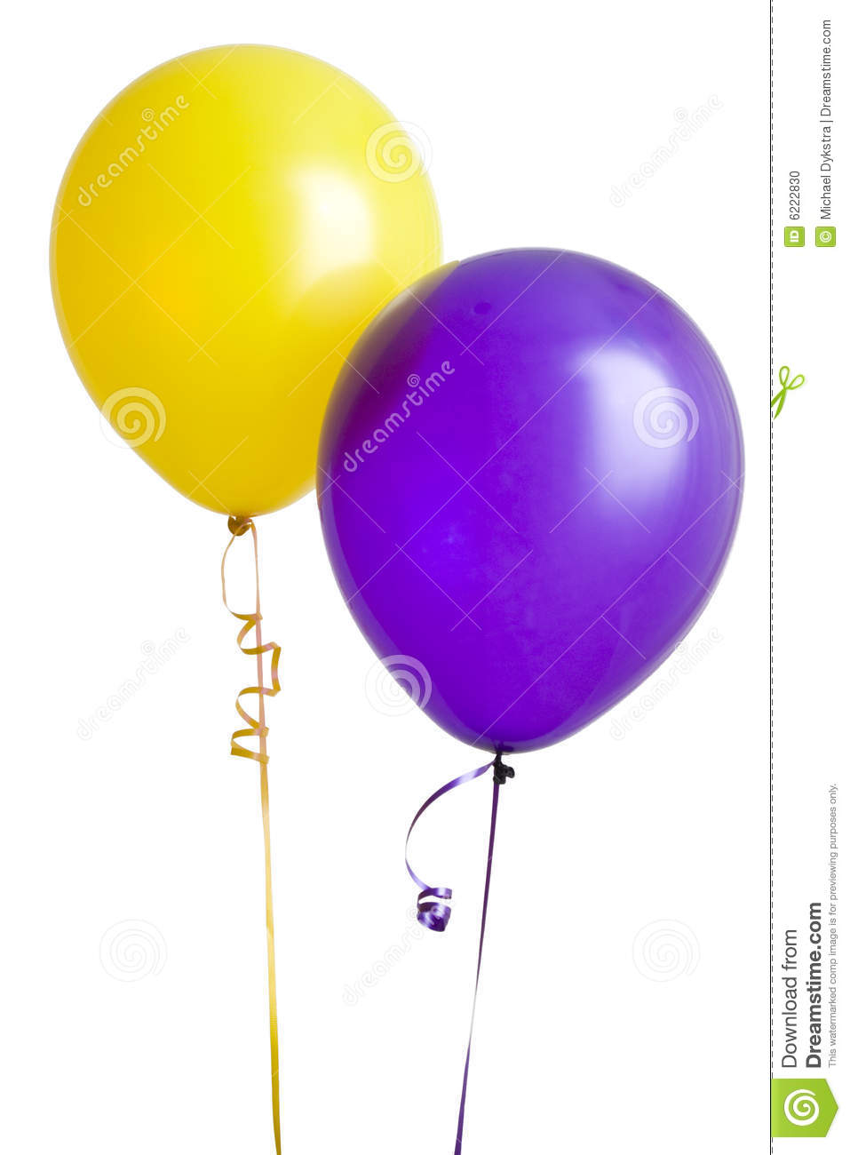 More Similar Stock Images Of   Purple And Yellow Balloon