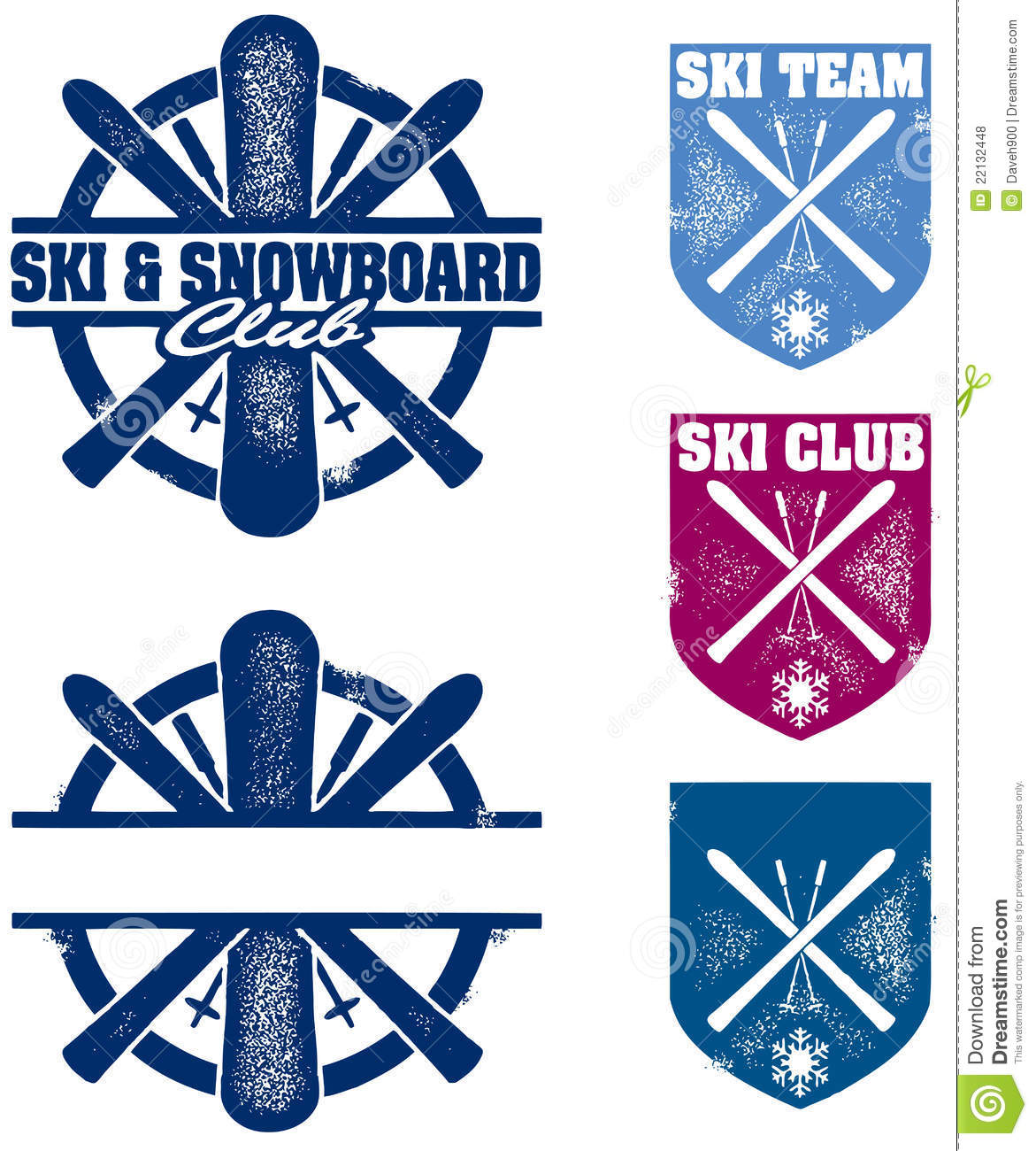 Ski And Snowboard Clipart Ski And Snowboard Team