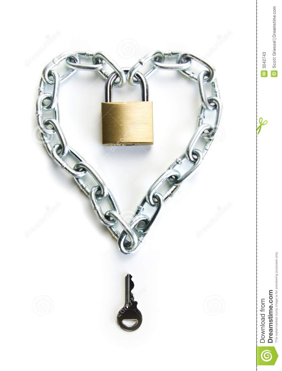 The Key To My Heart Stock Photos   Image  3042743