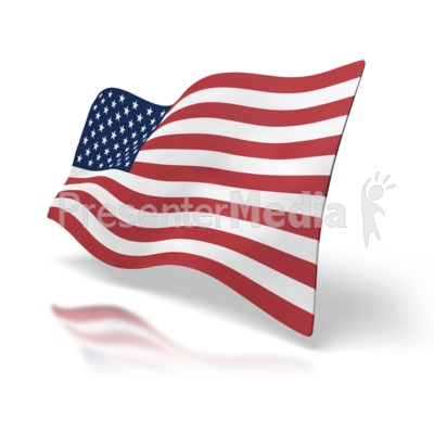 Usa Flag Perspective   Signs And Symbols   Great Clipart For