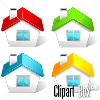 Clipart House Icons   Cliparts   Pinterest