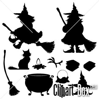 Clipart Witch Icons   Cliparts   Pinterest