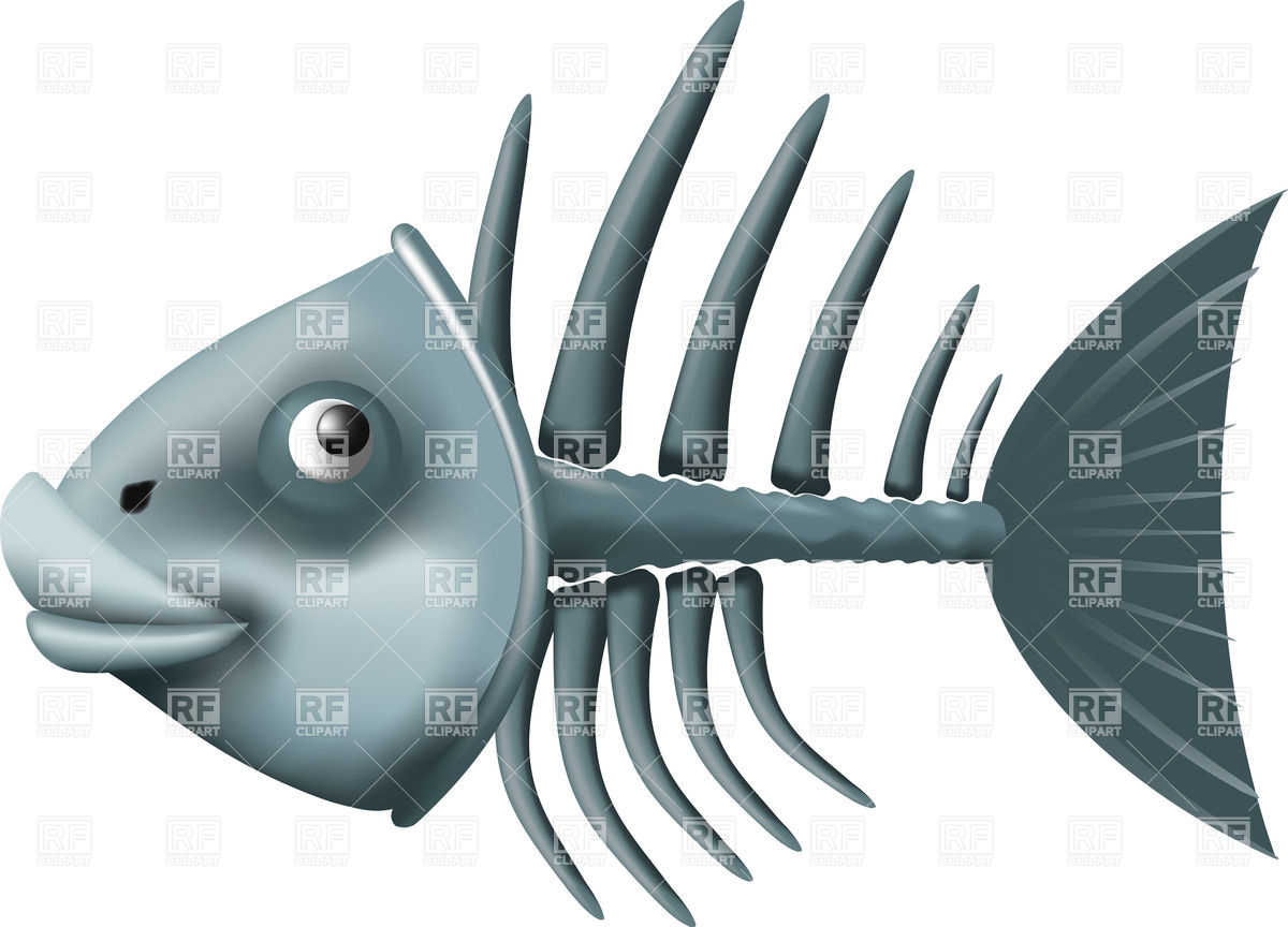 Fish skeleton clipart clipart suggest for Fish without bones
