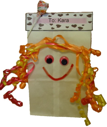 Day Lunch Bag For Kids This Is An Easy Valentine S Day Candy Bag