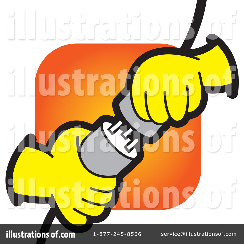 Electricity Clipart  1100954 By Lal Perera   Royalty Free  Rf  Stock