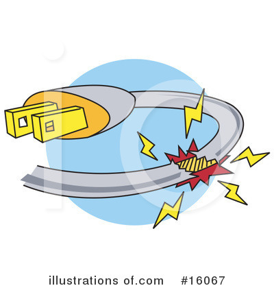 Electricity Clipart  16067   Illustration By Andy Nortnik