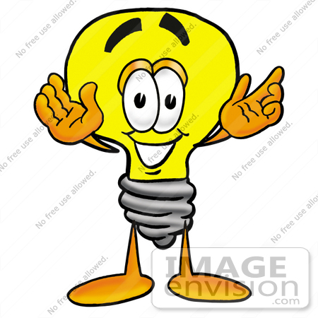 Electricity Clipart 24407 Clip Art Graphic Of A Yellow Electric