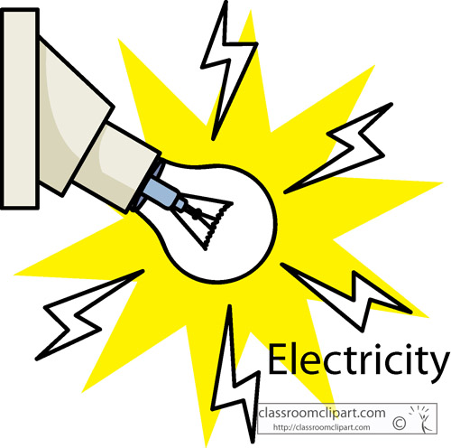 Electronics   Electricity Light Bulb   Classroom Clipart