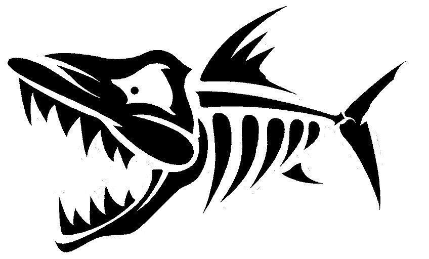 Fish Skeleton Clipart