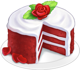 Red Cake Clipart : Red Velvet Cake Clipart - Clipart Suggest