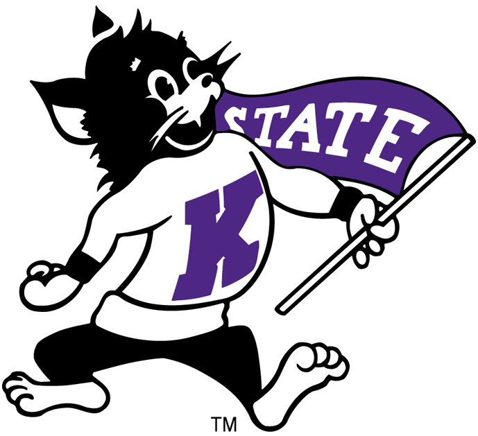 Kansas State Wildcats Primary Logo   Ncaa Division I  I M   Ncaa I M