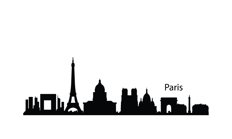 Paris Skyline Clipart - Clipart Kid