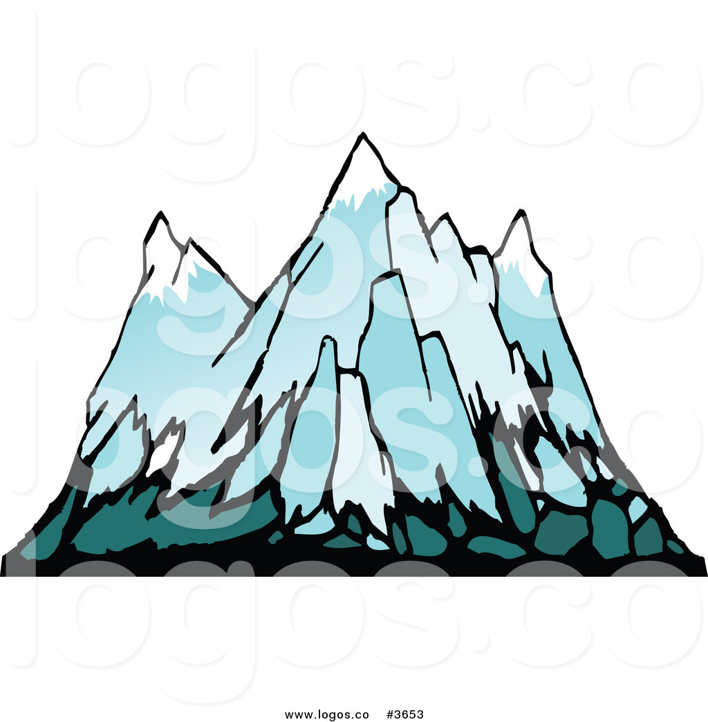 Royalty Free Front View Of A Mountain Logo By Seamartini Graphics