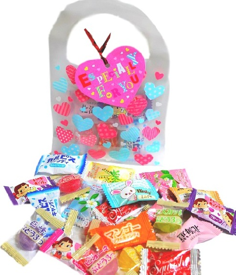 Valentine S Day Japan Candy Assortment Surprise Goodie Bag  Japan