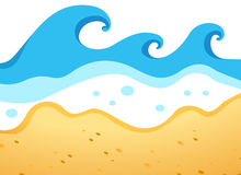 Beach Waves Stock Illustrations Vectors   Clipart    5380 Stock