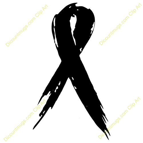 Cancer Ribbon Clipart - Clipart Suggest