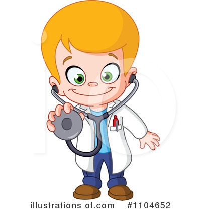 Doctor Clipart  1104652 By Yayayoyo   Royalty Free  Rf  Stock