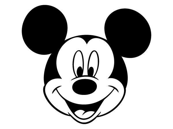 Mickey Mouse Outline   Clipart Best