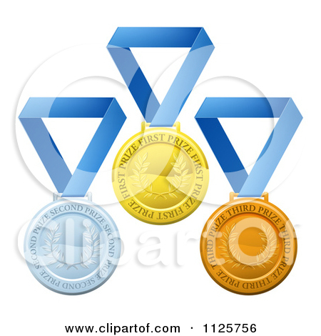 Royalty Free  Rf  Medal Clipart Illustrations Vector Graphics  1