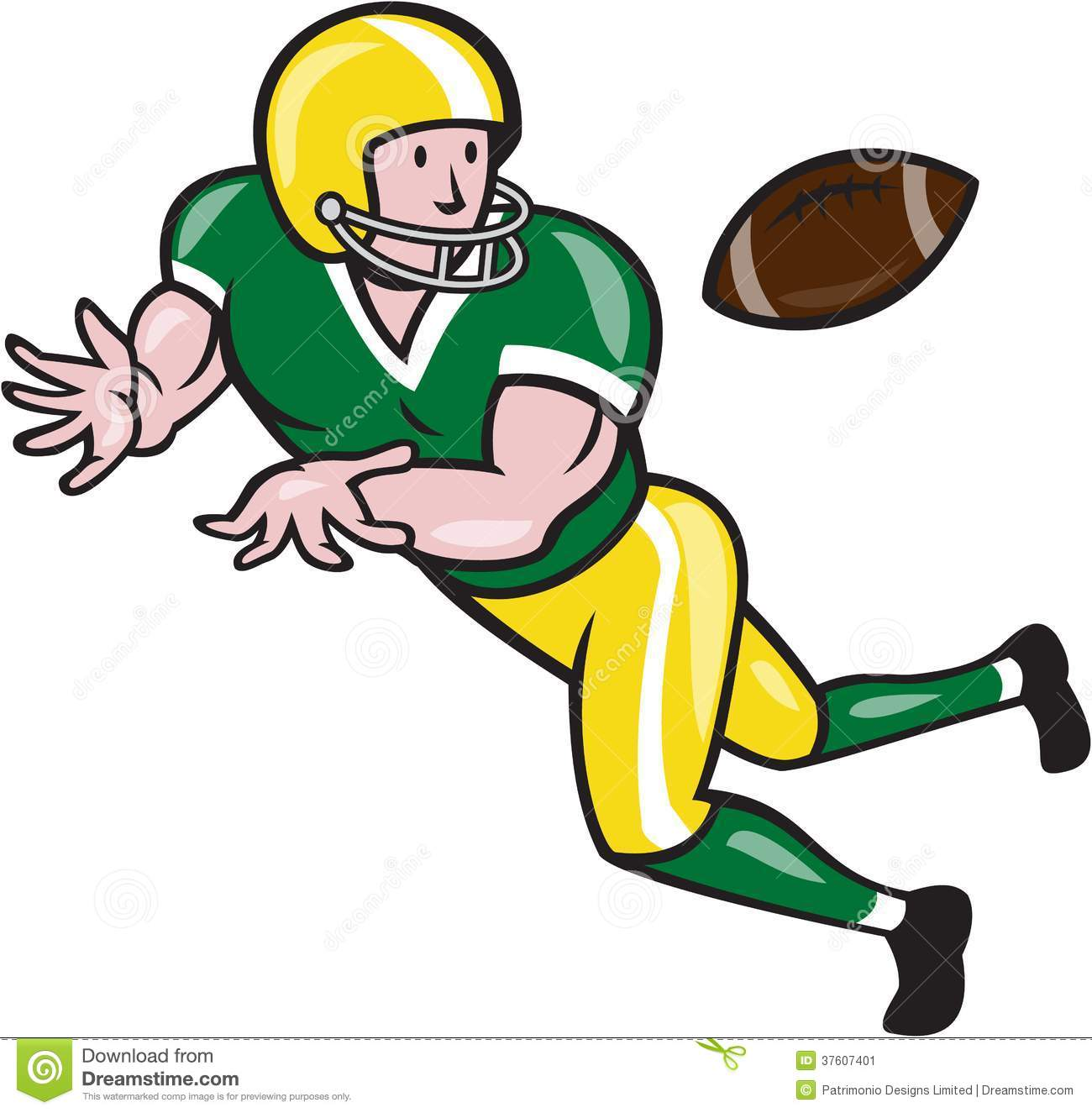 American Football Player Clipart Clipart Panda Free Clipart Images