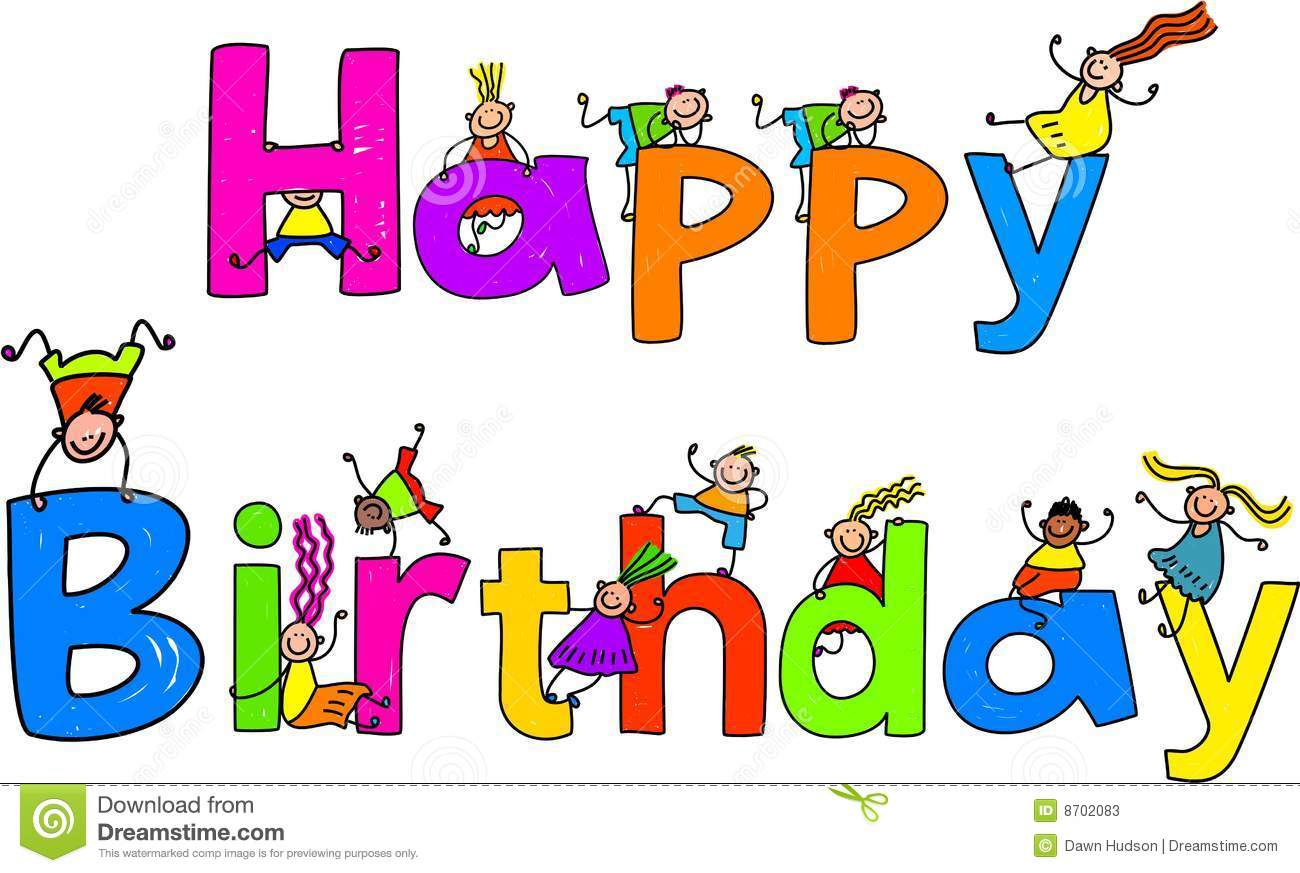 ... Birthday Party Clip Art happy birthday cartoon clipart clipart