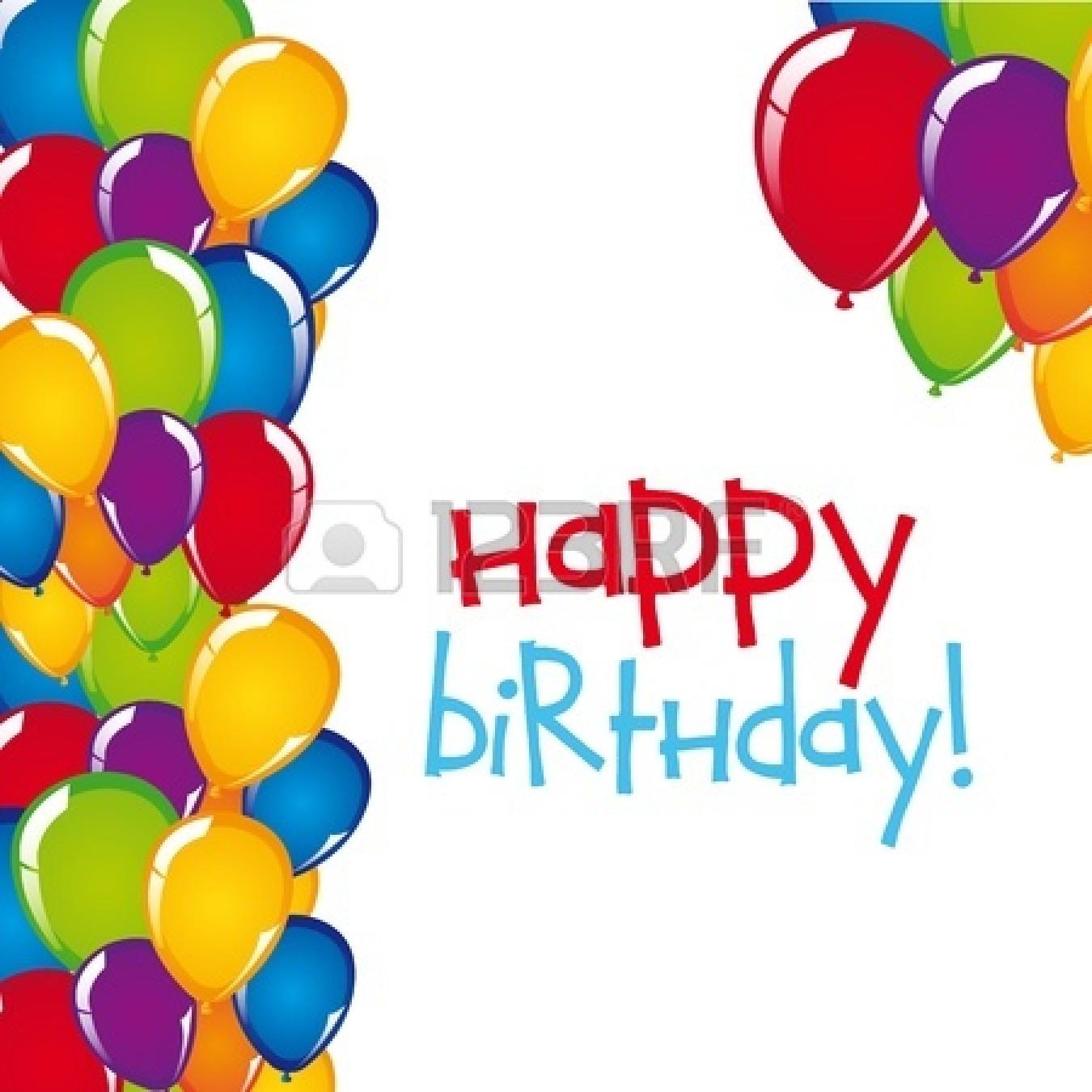 Happy Birthday Cartoon Clipart - Clipart Kid