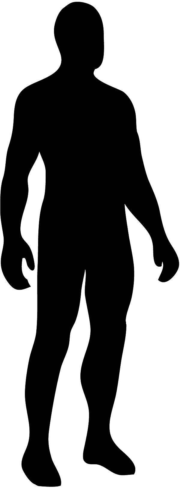 Body Silhouette Male Silhouette Black Jpg