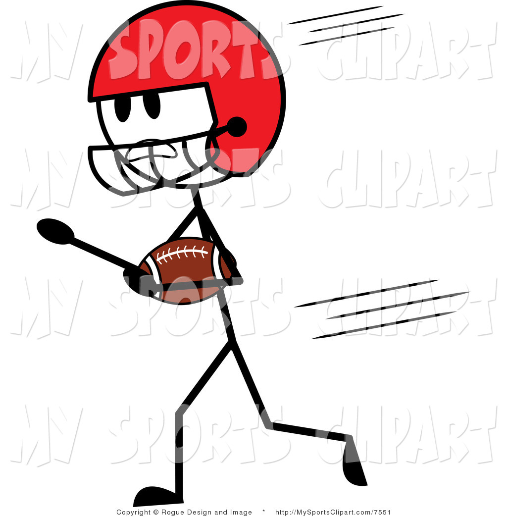 Football Clipart Football Player Clip Art
