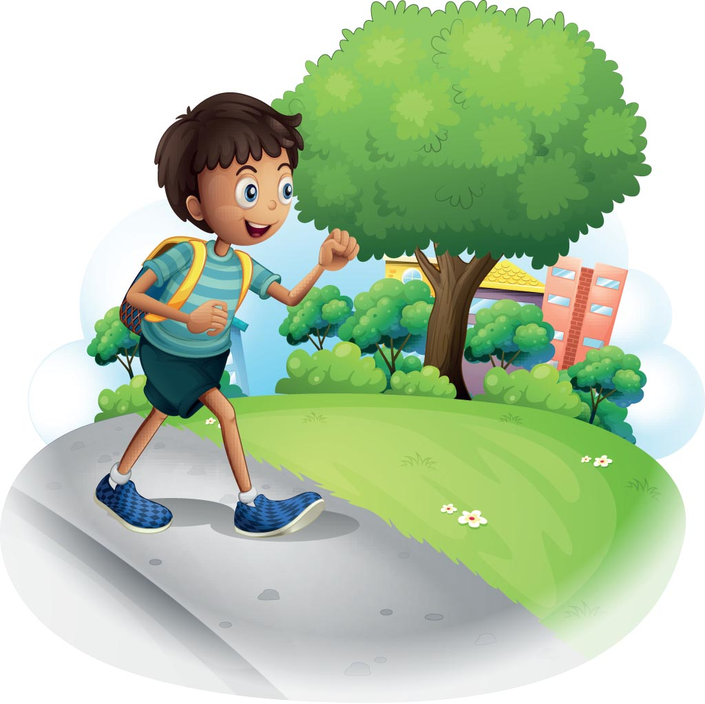 Going To School Clipart - Clipart Suggest